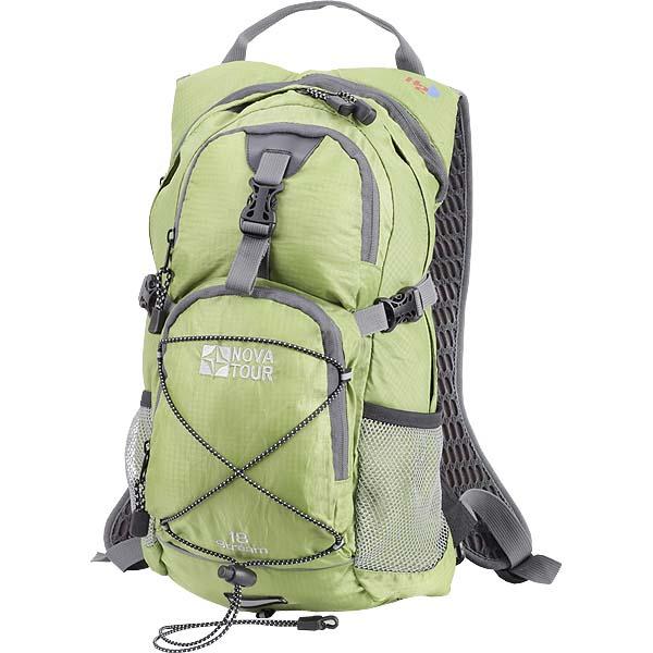 Туристический рюкзак nova tour каньон 50 n серый фисташковый рюкзак с эргономичной спинкой marvel extreme модель com.pack